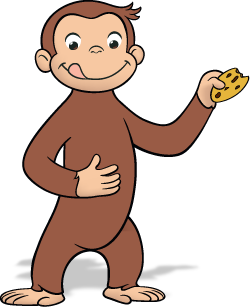 CURIOUS GEORGE LOGO