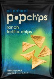 POPCHIPS TORTILLA CHIPS