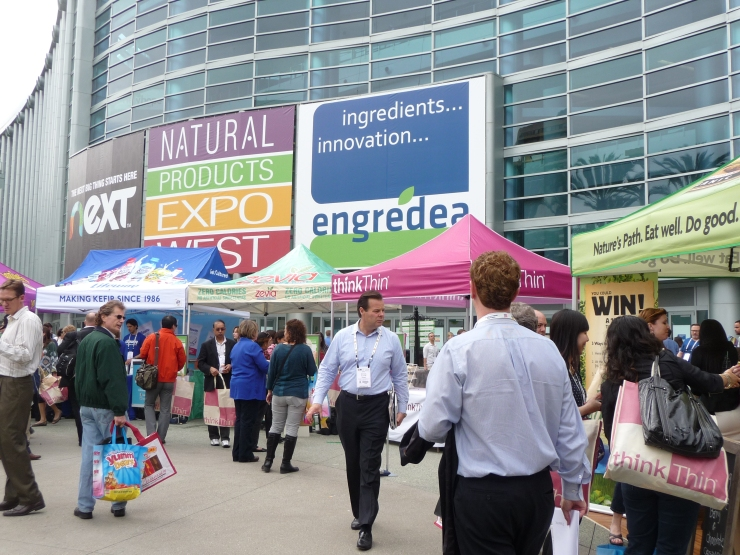 NATURAL PRODUCTS EXPO FRONT