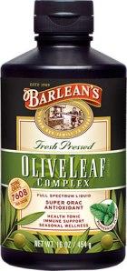 BARLEANS OLIVE LEAF