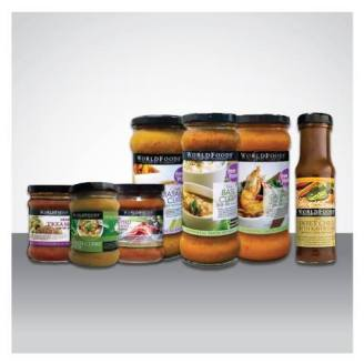 WORLD FOODS SAUCES