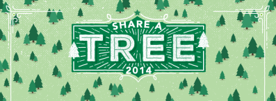 GREEN IS UNIVERSAL SHARE A TREE